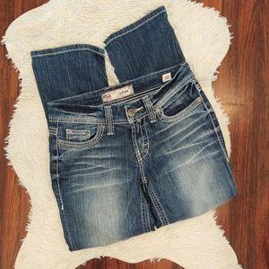 BKE Culture Crop Capri Jeans